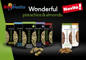 WONDERFUL PISTACHIOS™ AND ALMONDS SBARCANO DA STRAFRUTTA